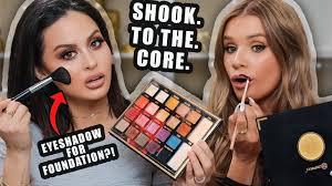 eyeshadow palette challenge