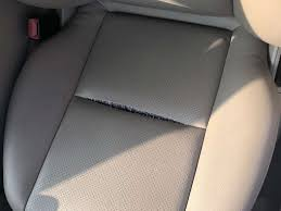 seam be fixed on this mercedes seat