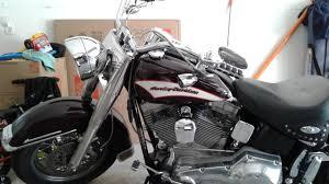 2006 Harley-Davidson® FLST/I Heritage Softail® (black cherry), vista,  California (746100)   ChopperExchange