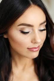 wedding makeup for black hair