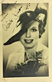 1930's ADELE DIXON ACTRESS AUTOGRAPH SIGNED REAL PHOTO | eBay