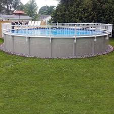Vinyl Works Premium 24in Kit B Resin Above Ground Pool Fence Kit 3 Sections