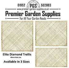 Elite Privacy Diamond Alderley Trellis Garden Lattice Climbing Various Size 1 3 Ebay