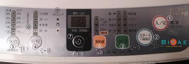 Cách sử dụng máy giặt và lựa chọn bột giặt tại Nhật - BiKae.net
