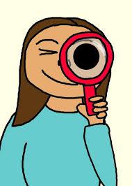 Mujer con lupa Stock de Foto gratis - Public Domain Pictures