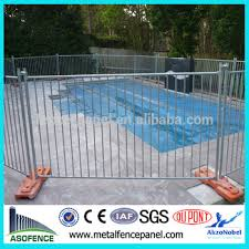 Portable Galvanized Child Safety Pool Fence Buy Child Safety Pool Fence Swimming Pool Fencechild Safety Pool Fence Galvanized Child Safety Pool Fence Product On Alibaba Com