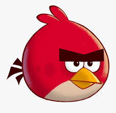 Angry Birds Toons - Red Angry Birds Background , Free Transparent ...