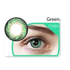 EOS Adela Green Soft Comfortable Contact Lens 2 Tone 14.8 mm Natural cool:  Buy Online at Best Prices in Bangladesh | Daraz.com.bd