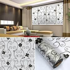 1 Roll Frosted Privacy Floral Pattern Window Film Home Bedroom Bathroom Glass Window Film Stickers No Glue Self Adhesive Sticker Wall Decal Bedroom Wall Decal Decor From Wangxiaofeng806 4 22 Dhgate Com