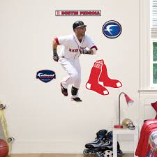 Shop Fathead Jr Dustin Pedroia Boston Red Sox Wall Decals Overstock 9723427