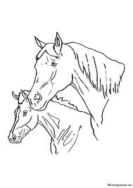 Paarden Kleurplaten Kleurplaten Eu
