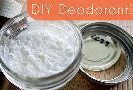 two ing homemade deodorant