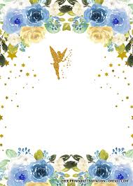 Free Fairy Invitation Templates Con Imagenes Invitaciones De
