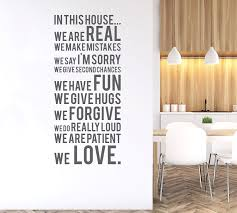 In This House We Do Wall Decal Pottery Barn