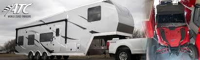 atc aluminum toy hauler 5th wheels