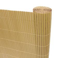 Privacy Screening Artificial Bamboo Slat Screening Two Sided 4m Long