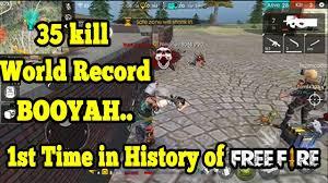 35 kill wrorld record in free fire