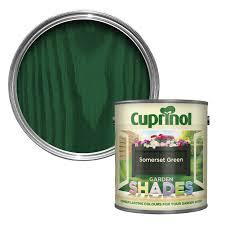 Cuprinol Garden Shades Somerset Green Matt Wood Paint 1l