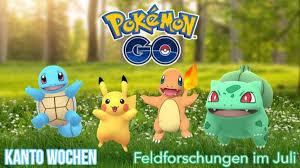 Pokémon GO: Die Feldforschungen im Juli