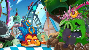 ANGRY BIRDS EPIC BAVARIAN FUNFARE LEVEL WALKTROUGH Android / iOS ...
