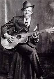 Amazon.com: Robert Johnson Poster, Deal with the Devil, Blues ...