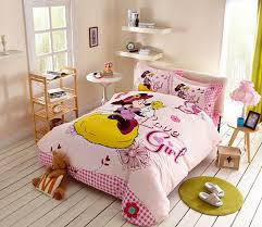 love girl minnie mouse bedding set twin
