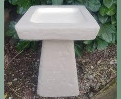staddle stone birdbath natural