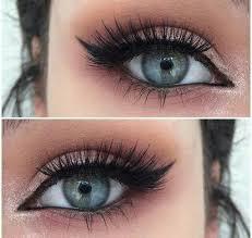 blue eyes easy makeup tutorials