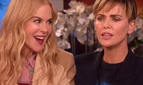 Charlize Theron talks about 'dating' Brad Pitt on Ellen show ...