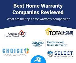 top 5 best home warranty companies