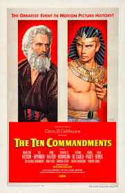 The Ten Commandments (1956 film ...