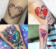Tatuaz Serce 19 Pieknych Wzorow Tatuazy Inspirowanych Sercem