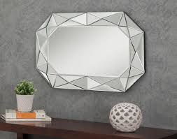 diamond wall mirror art van furniture
