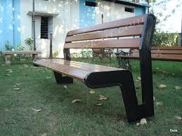 victoria cast iron garden bench