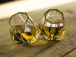 diamond shot glasses set of 8