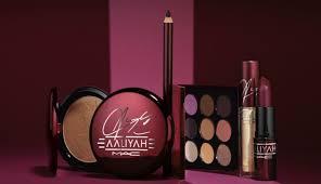 mac x aaliyah makeup collection mac