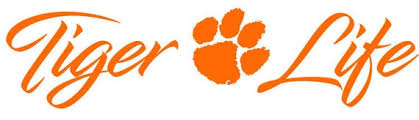 Tiger Life Clemson Decal For Car Truck Golf Cart Cups Etsy