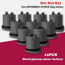 10pcs 3v Lithium Replacement Battery R21 R22 For Invisible Fence Dog Collar Us Microlite Platinum Receivers R21 R22 R51 Ifa 001 Digital Batteries Aliexpress