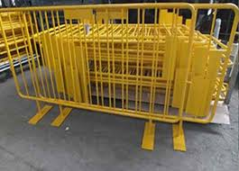 Safety Barrier Temporary Backyard Fence Temporary Security Fence Panels For Crowd Control