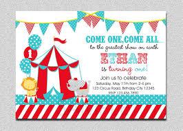 Carnaval Circo Cumpleanos Invitacion Fiesta De Cumpleanos De
