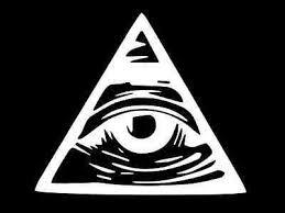 Illuminati All Seeing Eye Vinyl Decal Car Wall Window Sticker Choose Size Color Ebay
