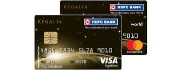 hdfc regalia credit card benefits
