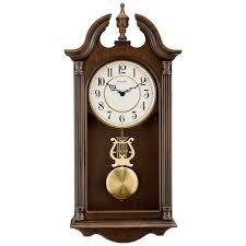 w pendulum chime wall clock c1517