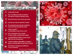 Coronavirus: quali sono i sintomi e come proteggersi / Decalogo ...