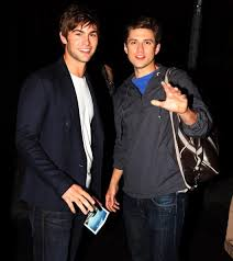 aaron tveit and chase Crawford after 'catch me if you can' I love ...