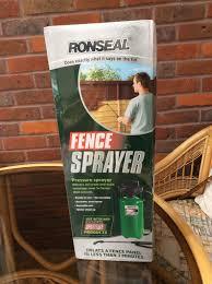 Ronseal Fence Sprayer In N20 Barnet For 10 00 For Sale Shpock