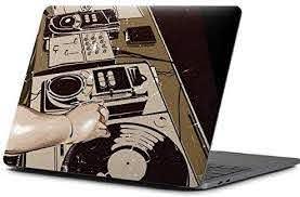 Amazon Com Skinit Decal Laptop Skin Compatible With Macbook Pro 13 Inch 2016 17 Originally Designed Dj Spinning Design Electronics