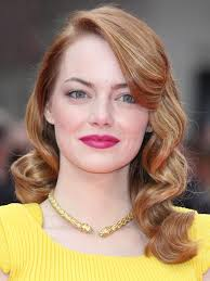 emma stone hair and makeup pictures