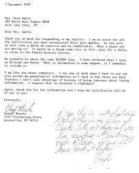 Sasser correspondence – Smith Harper