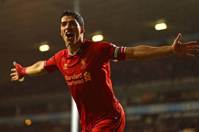 Image result for luis suarez liverpool""